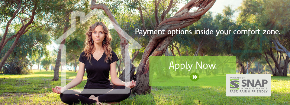 payment options inside you comfort zone - snap